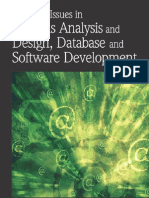 00 Resarch Issues in Systems Analysis and Design, Database and Software Development (IGI-2007)