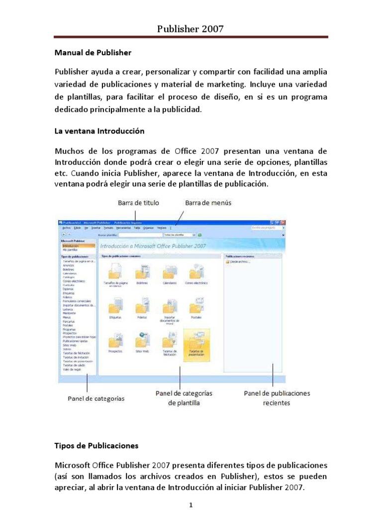 Lujoso Plantillas De Publicación De Microsoft Motivo - Colección De ...