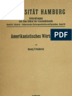Amerikanistisches Wörterbuch