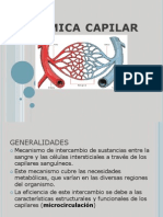 Cardiovascular Dinamica Capilar 2012