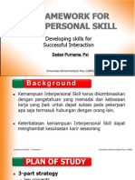 Interpersonal Skill 00 Framework