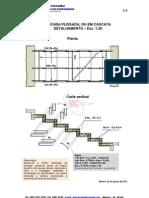 32-Escada Plissada Ou Em Cascata