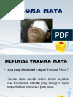 Penyuluhan Trauma Mata