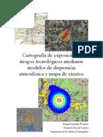 Cartografía de exposición a riesgos naturales mediante mapa de vientos