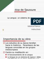 La Lingueistica de Saussure