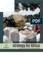 A new rice research for development strategy for Africa