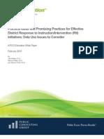 PCG Education - RTI White Paper