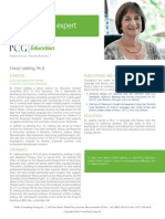 Cheryl Liebling, Ph.D., PCG Education Subject Matter Expert