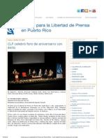 CLP celebró foro de aniversario con éxito