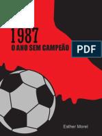 1987 - O ano sem campeão