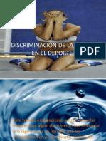 DISCRIMINACIÓN DE LA MUJER EN EL DEPORTE