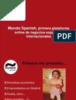 Presentación Beatriz Revilla (Espana) SGECol2012