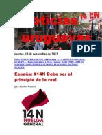 Noticias Uruguayas Martes 13 de Noviembre Del 2012 2