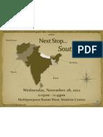 November 28, 2012 - Next Stop... South Asia!
