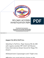 Accident Investigation Report