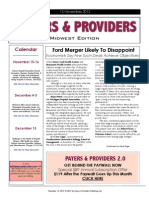 Payers &  Providers Midwest Edition – Issue of November 13, 2012