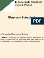 Misturas e Substancias