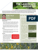November Landscape Reporter with Frost Prevention Supplement