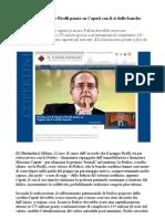 Il punto di Sergio Luciano sul rilancio Prelios - Ok banche per Massimo Caputi
