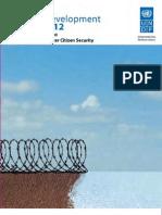 Caribbean Human Development Report - 2012
