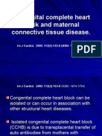 Congenital Complete Heart Block and Maternal Connective Tissue