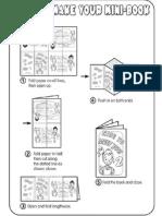 Mini Book Instructions