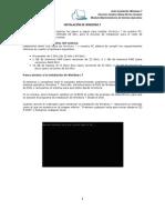 3.2 - Procedimiento Para Instalar Windows 7