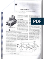Build a Tube Preamp