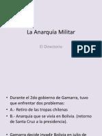 La Anarquia Militar (8th)