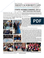 Missouri State Fraternity and Sorority Life Newsletter - Fall 12' Issue 4
