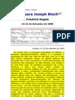 Carta Para Joseph Bloch