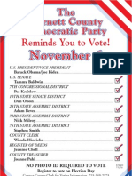 2012 Fall Election Newspaper Ad - color