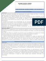 4to Informe Noviembre 12- 2012