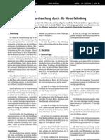 Checkliste zur Hausdurchsuchung ( Drogen, Steuerfahndung, AMG)