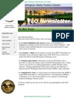 FLO Newsletter May 16 2012