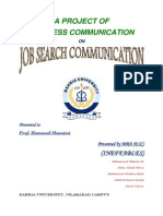 BC Project on Job Search Communication