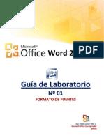 Laboratorio Word 01 Fuentes