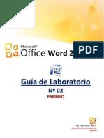 Laboratorio Word 02 Parrafos