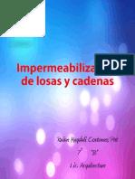 Impermeabilizantes de Losas y Cadenas