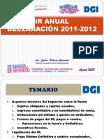 Seminario Impartido Por Dgi Declarac._ir_2012