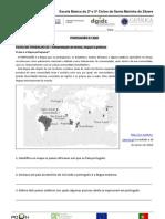 INTERPRETAÇÃO DE MAPAS, TEXTOS E GRÁFICOS