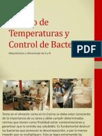 Almacén y Manejo de Temperaturas