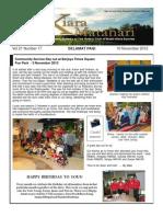 RCBKS Bulletin Vol 21 No 17