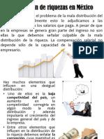 Distribución de riquezas en México