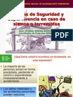 Medidas de Seguridad Ante Terremotos