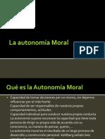 La autonomía Moral