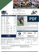 Week 11 - Rams vs. Jets