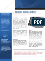White Paper for WWT Rockwood Schools