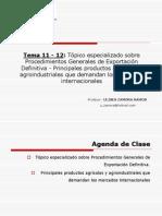 Tema 11-12 Exportación Definitiva - Potenciales Compradores