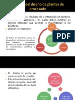 Función del diseño de plantas de procesado